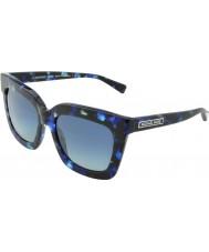 Michael Kors MK2013 53 Glam Blue Marble 30794L Sunglasses