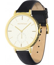 Halcyon Days HD2012 Ladies Maya Sports Black Leather Strap Watch