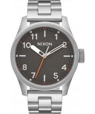 Nixon A974-131 Mens Safari Silver Steel Bracelet Watch