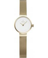 Obaku V199LXGIMG Ladies Gold Plated Steel Bracelet Watch