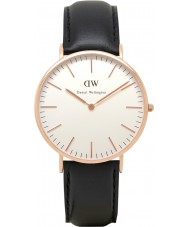 Daniel Wellington DW00100007 Mens Classic 40mm Sheffield Rose Gold Watch