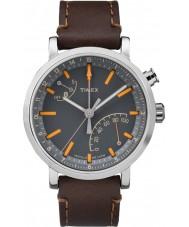 Watches Timex Mens Metropolitan Brown Leather Strap Watch
