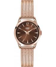 Henry London HL25-M-0044 Ladies Harrow Brown Rose Gold Watch