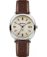 Barbour BB018SLBR Mens Beacon Brown Leather Strap Watch