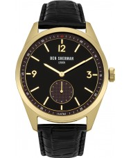 Ben Sherman WB052BG Mens Carnaby Driver Black Leather Strap Watch
