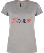 Dare2b DWT319-81I16L Ladies One Love Ash Grey Marl T-Shirt - Size UK 16 (XL)
