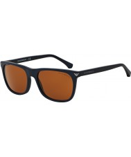 Emporio Armani EA4056 57 Essential Leisure Matte Blue 545273 Sunglasses