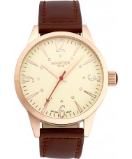Minster 1949 MN01CRRG10 Mens Crofton Brown Leather Strap Watch
