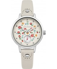 Cath Kidston CKL005CS Ladies Little Flower Buds Nude Leather Strap Watch
