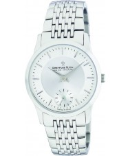 Dreyfuss and Co DGB00001-02 Mens 1946 Silver Watch