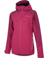 Dare2b Ladies Candor Electric Pink Waterproof Jacket