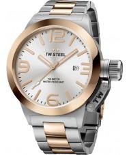 TW Steel CB121 Canteen Silver Steel Bracelet Watch
