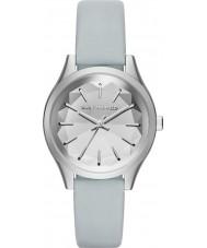 Karl Lagerfeld KL1618 Ladies Belleville Blue Leather Strap Watch