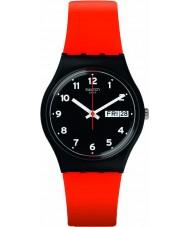 Swatch GB754 Original Gent - Red Grin Watch