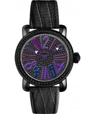 Pocket PK2034 Ladies Rond Pave Medio Black Watch