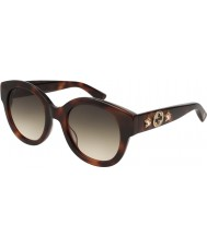 Gucci Ladies GG0207S 002 51 Sunglasses