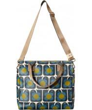 Orla Kiely 17SELBR100-7005-00 Ladies Love Birds Print Zip Messenger Bag