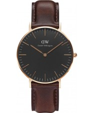 Daniel Wellington DW00100137 Classic Black Bristol 36mm Watch