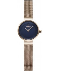Obaku V199LXVLMV Ladies Rose Gold Plated Steel Bracelet Watch