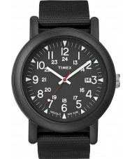 Timex Originals T2N364 All Black Camper Watch