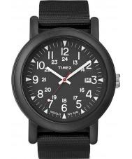 Timex Originals T2N364 All Black Camper Watch