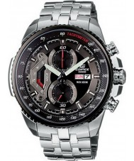 Casio EF-558D-1AVEF Mens Edifice Black Steel Chronograph Watch