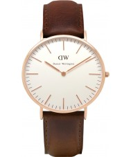 Daniel Wellington DW00100009 Mens Classic 40mm Bristol Rose Gold Watch
