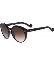 Liu Jo Ladies LJ635S Melanie Stud Black Sunglasses