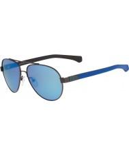 Calvin Klein Jeans CKJ462S Ebony Blue Sunglasses