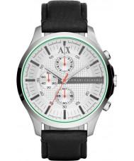 Armani Exchange AX2165 Mens White Black Chronograph Dress Watch