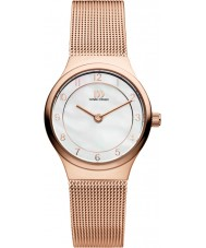 Danish Design V67Q1072 Ladies Rose Gold Mesh Bracelet Watch