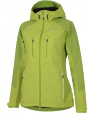 Dare2b DWW118-65C12L Ladies Candor Lime Zest Waterproof Jacket - Size S (12)