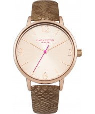 Daisy Dixon DD030TRG Ladies Amelia Dark Gold PU Leather Strap Watch
