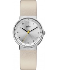 Chriselli Braun Ladies Silver Beige Watch