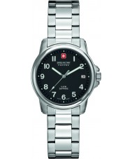 Swiss Military 6-7231-04-007 Swiss Soldier Lady Prime Black Silver Watch