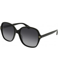 Gucci Ladies GG0092S 001 Sunglasses