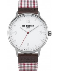 Ben Sherman WB062WUR Mens Portobello Gingham Watch