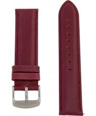 Charles Conrad CDA1006-15-L16 Marsala Leather Strap