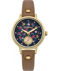 Cath Kidston CKL005TG Ladies Little Flower Buds Tan Leather Strap Watch