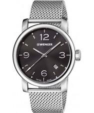 Wenger 01-1041-124 Mens Urban Metropolitan Silver Steel Mesh Bracelet Watch
