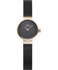 Obaku V199LXVNMN Ladies IP Brown Steel Bracelet Watch