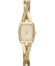 DKNY NY2237 Ladies Crosswalk Gold Stone Set Bangle Watch
