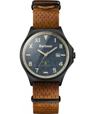 Barbour BB047GNTN Mens Marsden Tan Leather Strap Watch