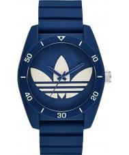 Adidas ADH3138 Santiago Blue Silicone Strap Watch