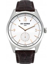 Ben Sherman WB052BR Mens Carnaby Driver Brown Leather Strap Watch
