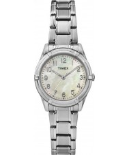 Timex TW2P76000 Ladies Easton Avenue Silver Steel Bracelet Watch
