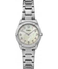 Timex TW2P76000 Ladies Easton Avenue Silver Steel Bracelet Watch