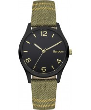 Barbour BB002BKTR Ladies Afton Tartan Fabric Strap Watch