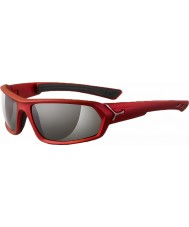 Cebe S-Teem Matt Red Sunglasses