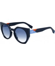 Fendi Ladies Facets FF 0151-S PJP U3 Sunglasses